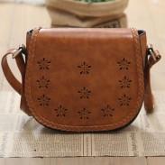 Hollow Retro Simple Weave Shoulder Bag
