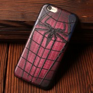 Heroes Series Spiderman Superman Captain America Ironman Soft Cases For Iphone 5/5S/6/6S