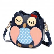 Lovely Owl Cartoon Shoulder Bag Messenger Bag
