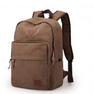 Leisure Large Travel Bag Canvas Simple Men's Backpack