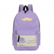 Summer Beard Pattern Travelling Bags School Backpacks