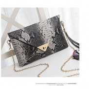 Casual Animals Crocodile Envelope Clutch Bag