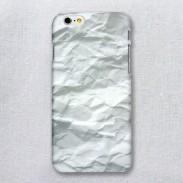 Creative Convex Concave White Paper Iphone 6/6s Case
