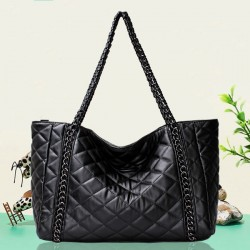 Classic Diamond Pattern Chain Shoulder Bag Handbag