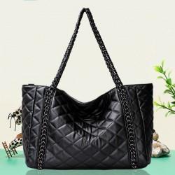 Classic Diamond Pattern Chain Shoulder Bag Handbag