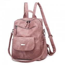 Leisure Detachable Shoulder Strap Waterproof PU Multi-function Shoulder Bag Magic Women's Backpack
