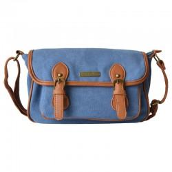Unisex Solid Simple Classic Shoulder Bag Messenger bag
