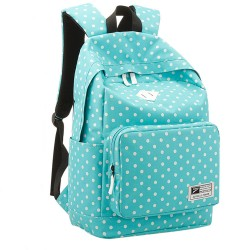 Sweet Preppy Style Polka Dot Backpack