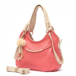 Leisure Solid Diamond Grid Handbag Tote Shoulder Bag Messenger Hobo Bag
