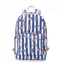 Fresh UK British Flag Stripes Computer Bag Travel Bag College  Backpack