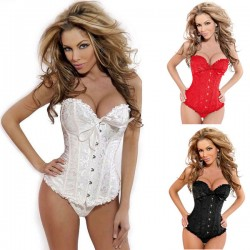 Sexy Lace Fashion Court Breast Care Corset