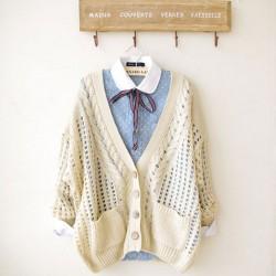 New Style Fresh Crochet Cardigan