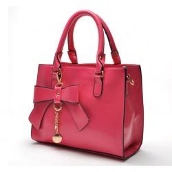 New Vintage Bowknot  Frosted Handbag&Shoulder Bag