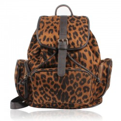 Vintage Nice Leopard Prints Backpack&Schoolbag