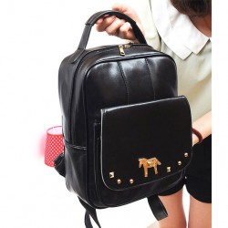 Fresh Pony Rivet  College Backpack & Handbag