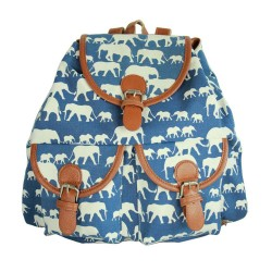 Fashion Elephant Hishimonoides Printed Animal Backpack