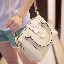 Fashion Contrast Color Three Shells Messenger Bag&Shoulder Bag