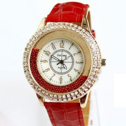 Creative Drift Sand Rhinestone Quartz Watch