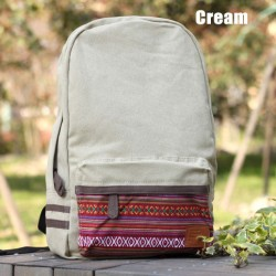Fresh National Styel Canvas Shoulder Bags