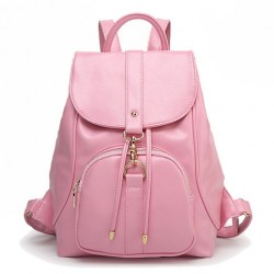 New Leisure Pink Beam School Rucksack Port Travel College Backpack