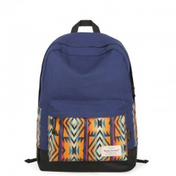 Folk Geometric Patterns College Travel Gym Backpack