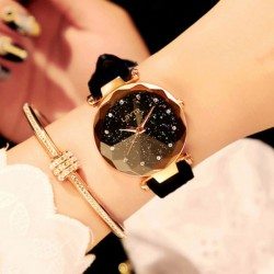 Fashion Rhinestone Belt Waterproof Shining Ladies Quartz Watch