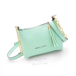Fashion Sweet Tassel Cute Chain Shells Shoulder Bag