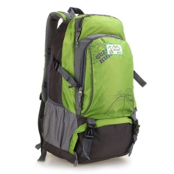 Fresh Green Waterproof Seismic Trend Backpack