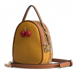 Cute Two Strawberry Chain Strap Small Bag Women Shoulder Bag
