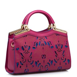 Fashion Laser Hollow Out Fluorescent Handbag&Shoulder Bag