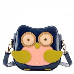 Fashion Owl Animal Pattern Shoulder Bag Messenger Bag
