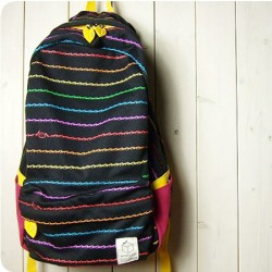 Fashion Ant  Lifeline Printed Zebra Backpack