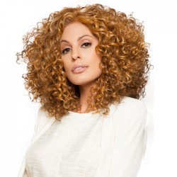 Fashion Fluffy Long Wavy Curly Women's Curls Hair Wig