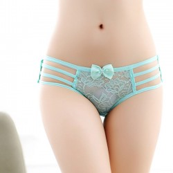 Sexy Bandage Underwear Hollow Out Women's Bow Lingerie
