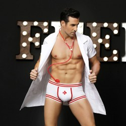 Sexy Men's Bar Nightclub Costumes Doctor Male Nurse Cosplay Men's Lingerie