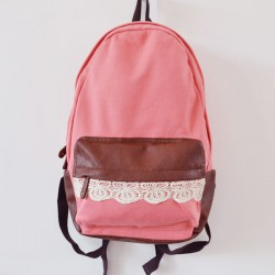 Fashion Cute Canvas Lace Backpacks