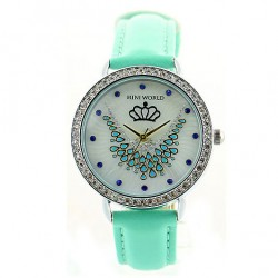 Fashion Crown Phoenix Mint Green Watch