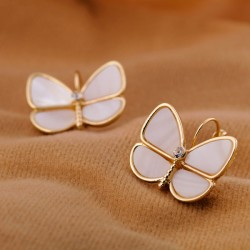 Natural Shell Butterfly Earring