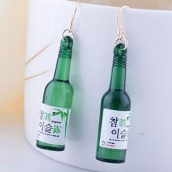 Unique Night Club Wine Bottle Ear Clip/Ear Drop