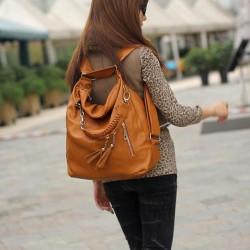 Fashion Multifunction Fringed Handbag & Shoulder Bags