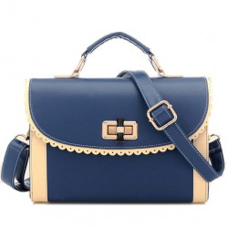 Sweet Rotation Lock Lace Handbag & Shoulder Bag