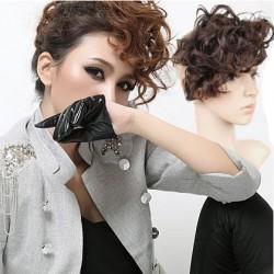 Night Club Deep Curly Bang Clip Hair Weft