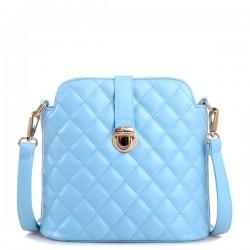 Stylish Rhombus Pattern Messenger Bag Shoulder Bag