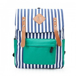 Fashional College Female Retro Canvas Backpack