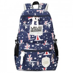 Casual Printing School Bag Teenagers Rucksack Travel Sport Backpack
