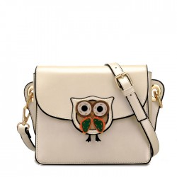 New Cute Owl Cartoon Summer Casual Shoulder Bag