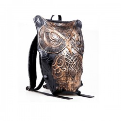 Original Unique Owl-shaped Cool Man's Travel 3D Backpack