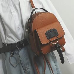 Fresh Multi-function Shoulder Bag Small Girl's Backpack