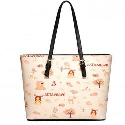Elegant Ladies Fairy Tale Happy Girls Cartoon Tote Handbags