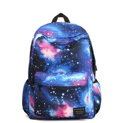 Casual Universe Blue Galaxy School Backpacks
